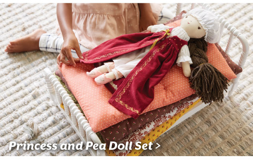 Shop Wee Wonderful Princess and Pea Doll Set